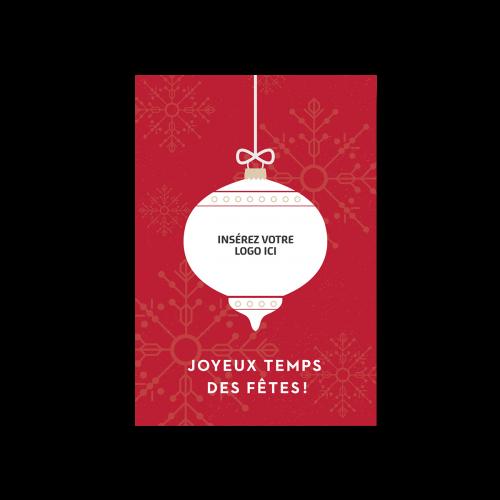 CS-151 - Cartes de Noël corporatives