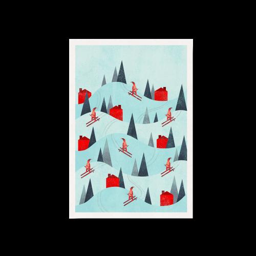 CS-165 Cartes de Noël corporatives