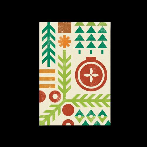 CS-170 - Cartes de Noël corporatives